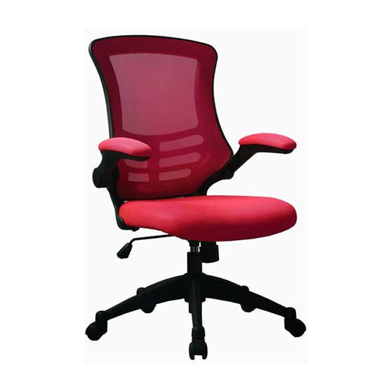 Luna Mesh Chair in Red