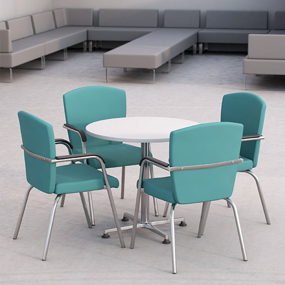Key 4 leg office meeting chair