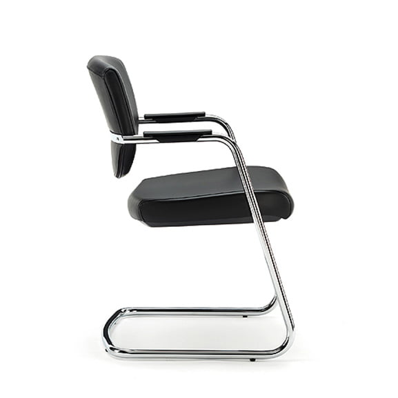 Ket cantilever frame office meeting chair mid back