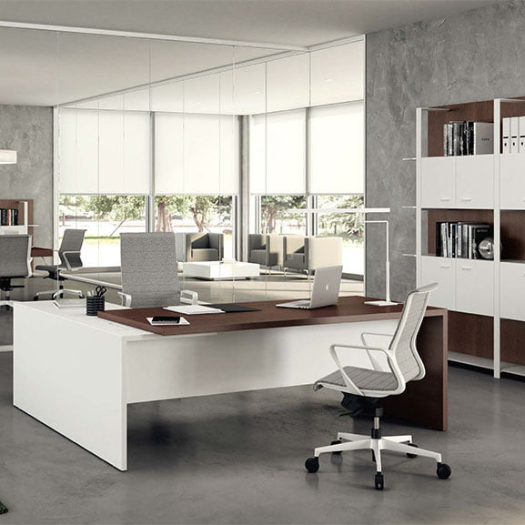T45 Executive Desk with Storage