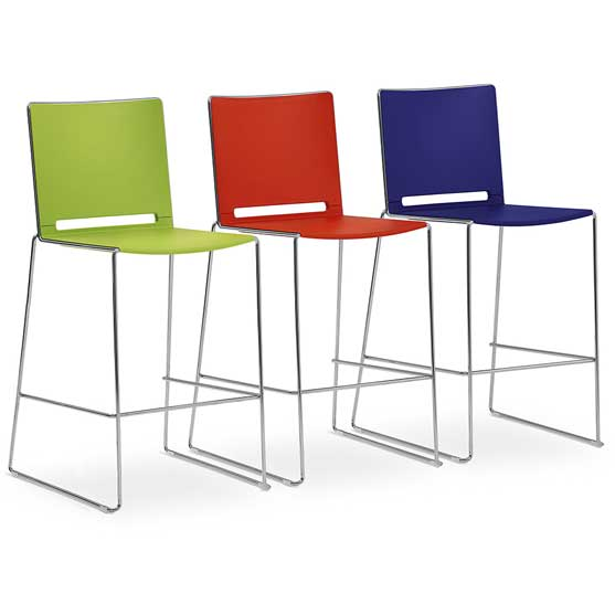Riva Breakout Stools in different Colours