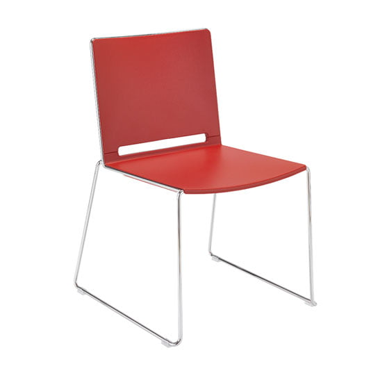 Riva Breakout Chair in Red