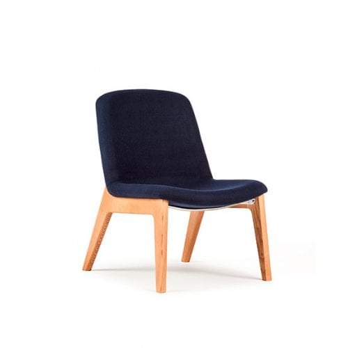 Herbie wood frame lounge and breakout seating