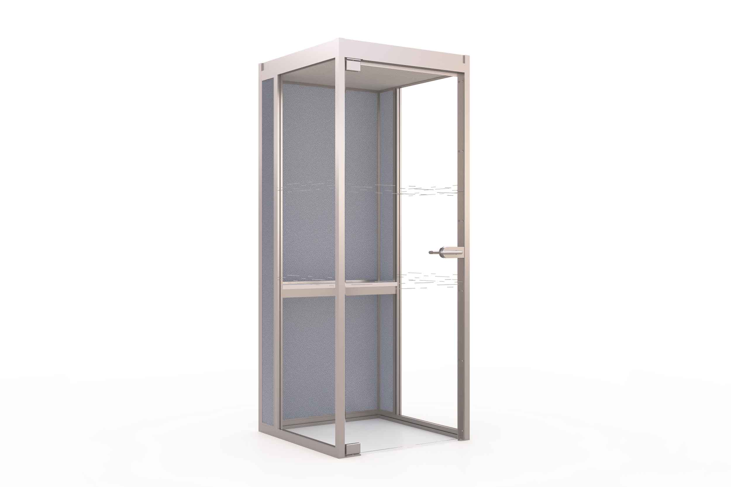 T2 Boss telephone booth perfect for office spaces