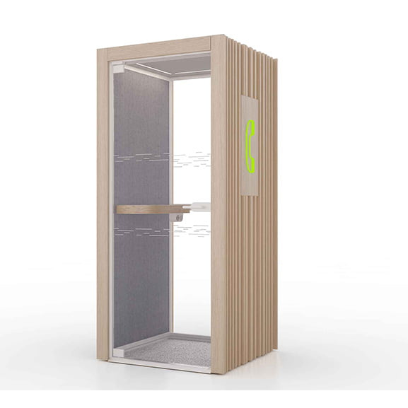 T4 Classic Boss Telephone Booth for office space