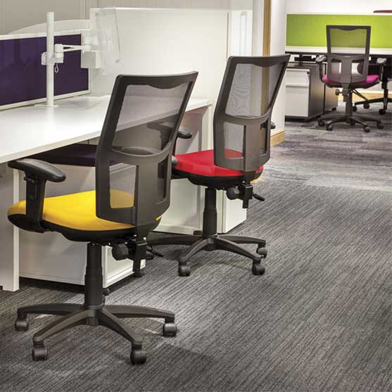 Touch Mesh Chair shown in an office