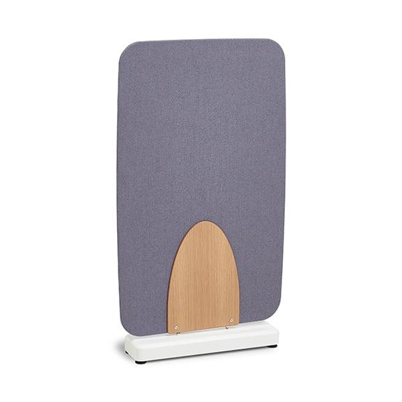 Grey Verco Soft Barrel Floor Standing Screen