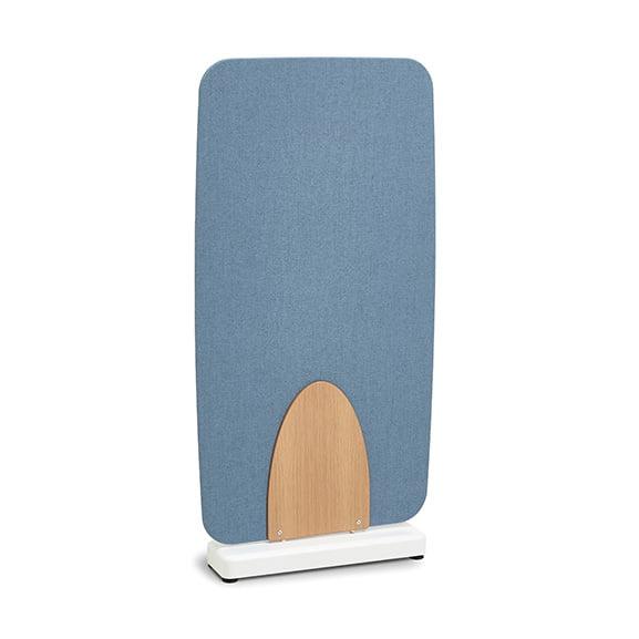 Blue Verco Soft Barrel Floor Standing Screen
