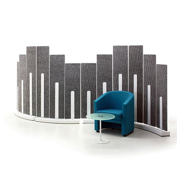 Verco Turbine Curved Floor Standing Screens