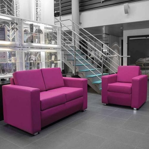 Hurricane office and reception settee