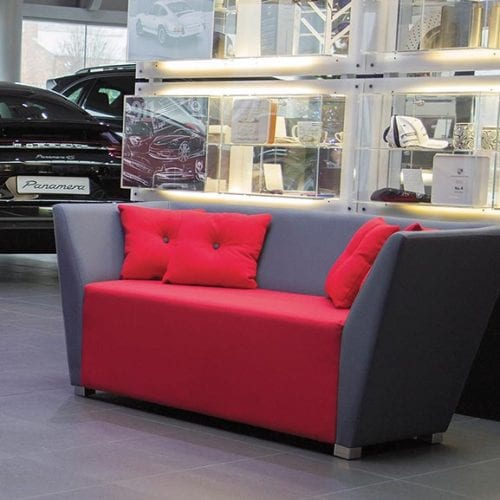 Twilight office and reception settee