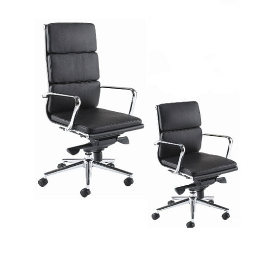 Aria medium and back executive leather chair