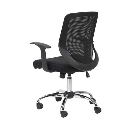 Back of Atlanta Mesh Office Chair