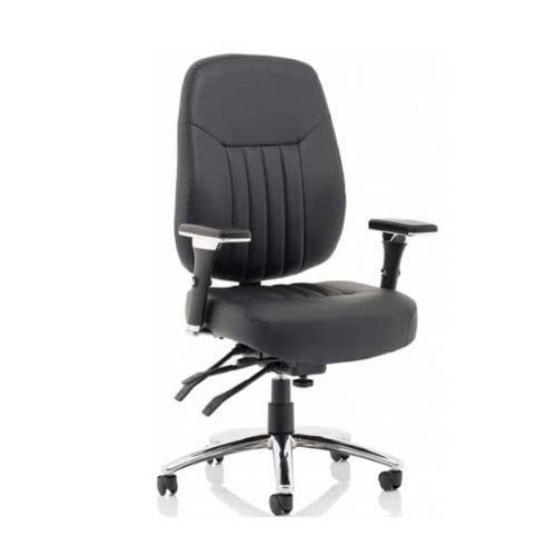 Barcelona Leather Executive Chair by Dynamic
