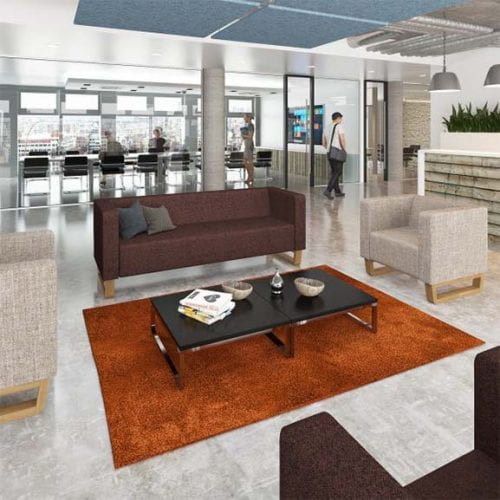 cleo office and reception settee