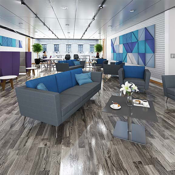 lyric office and reception soft seating