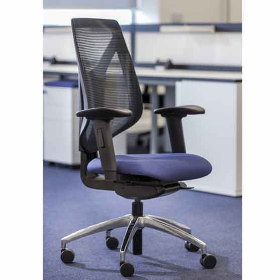 Duce Mesh Chair in a modern office