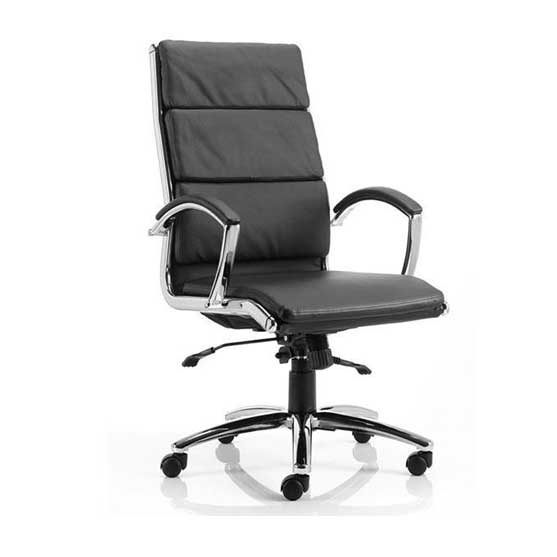 Classic Leather Meeting Chair from Dynamic