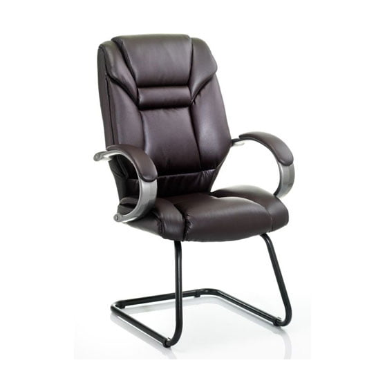 Galloway Leather Meeting Chair