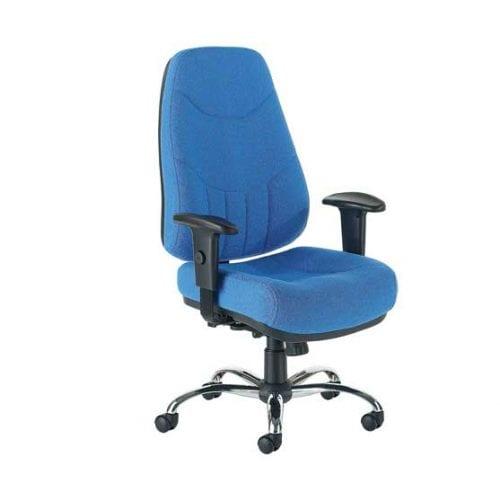 Mercury Ergonomic Chair in Blue