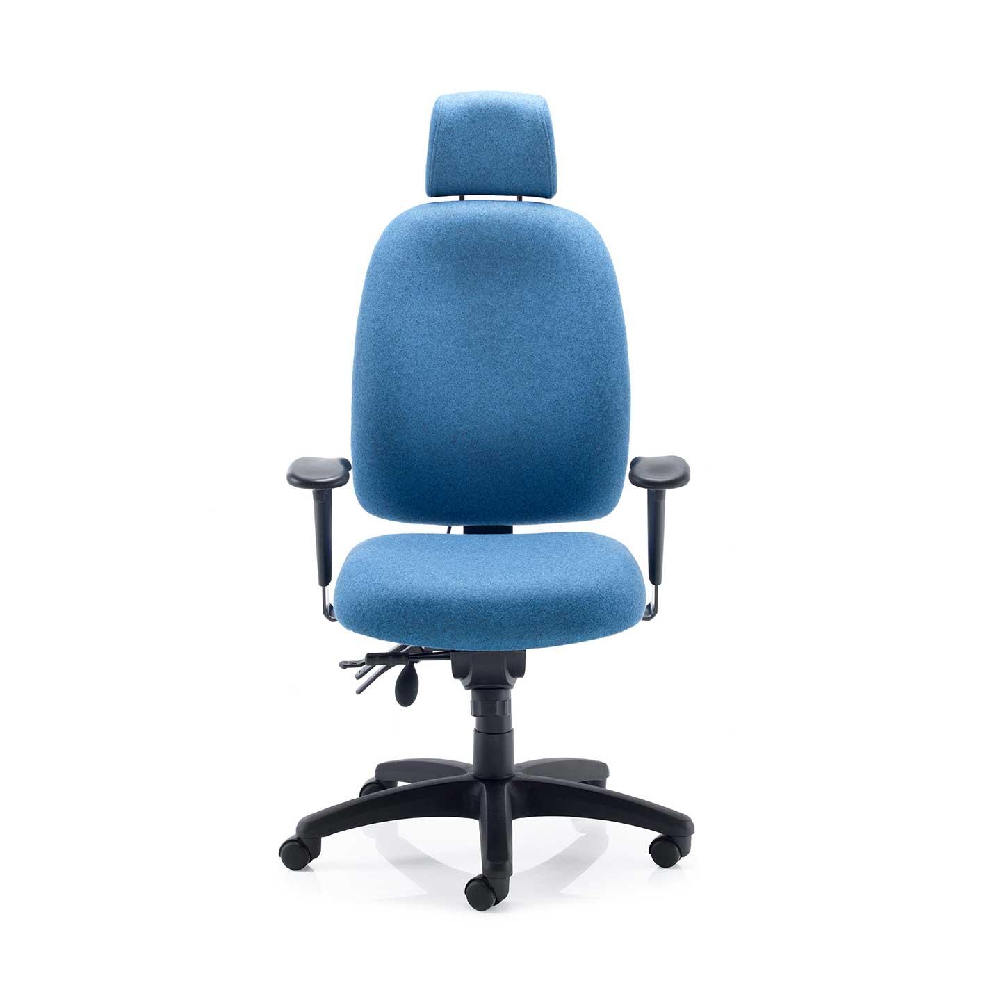 Blue Ergonomic chair stellar posture from Psi in blue