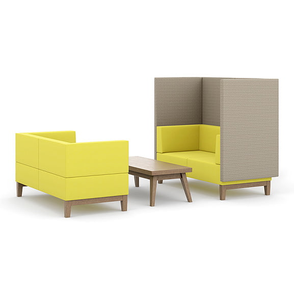 fence office and reception settee