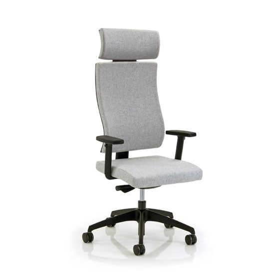 Vibe Executive Chair in Grey