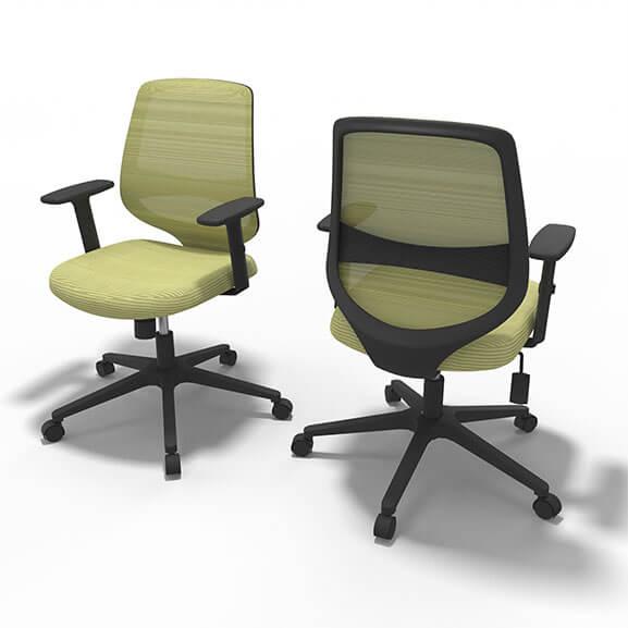 Well Green Mesh Office Chair