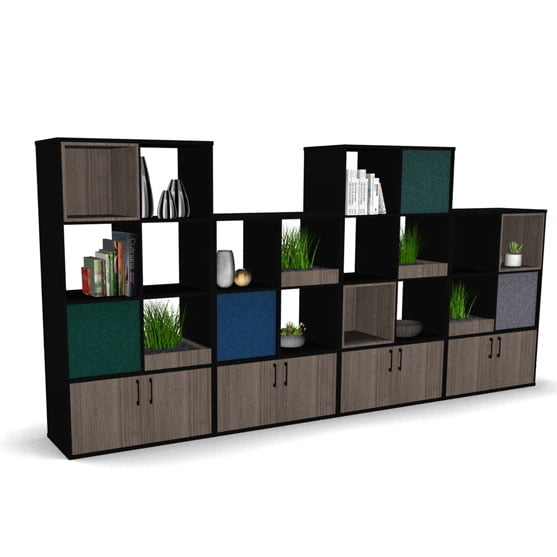 BXS Room Divider in Grey