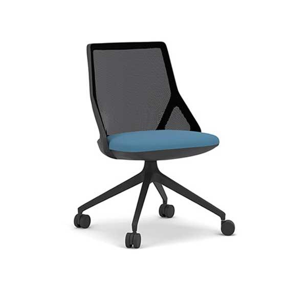 Cicero no arms swivel chair