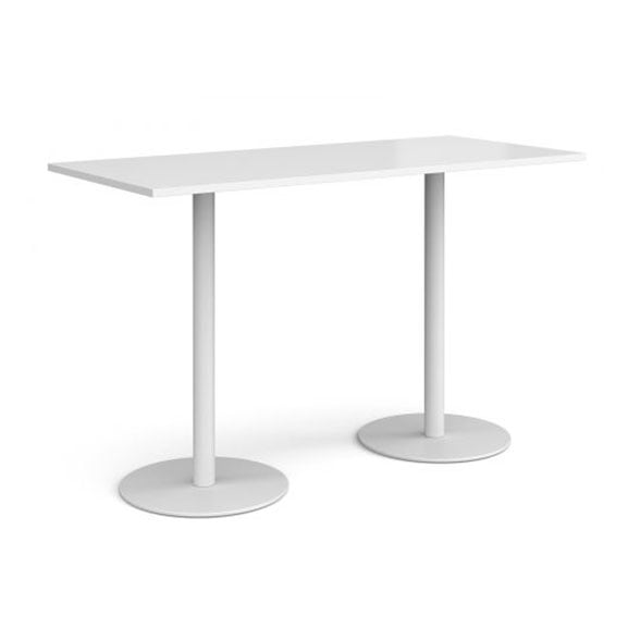 White Poseur Table from Dams