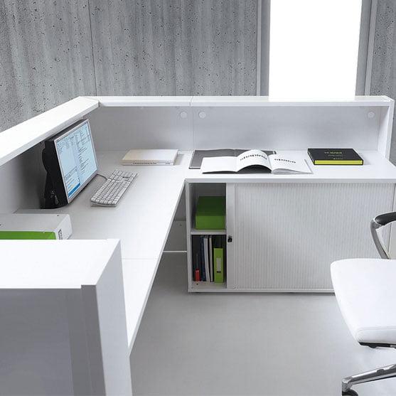 Details of Linea Reception Desk
