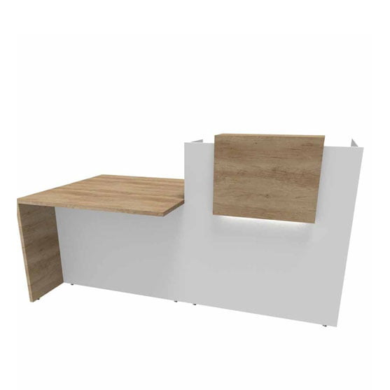 Fifty Full Reception Desk from Buronomic