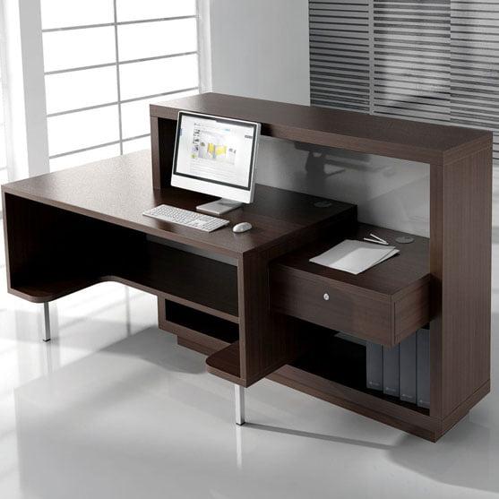 Foro Reception Desk Wood
