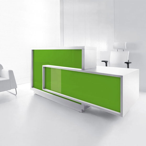 Foro Reception Desk Green