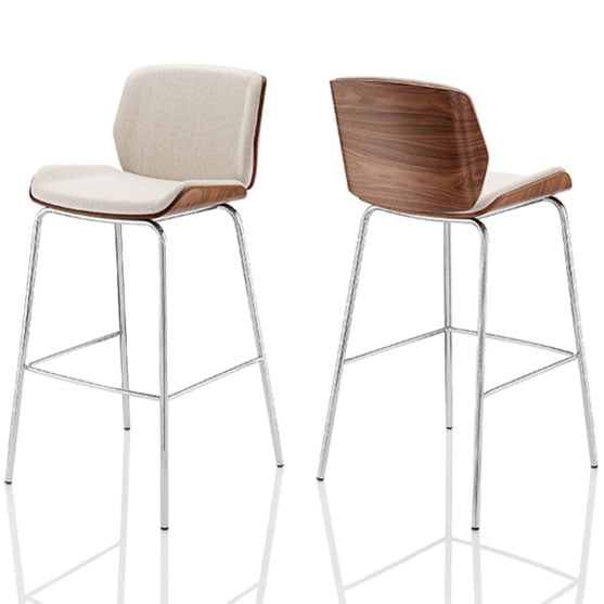 Kruze High Stools Front and back