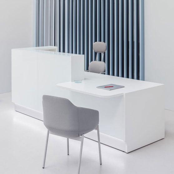 Linea Reception Desk Front Image