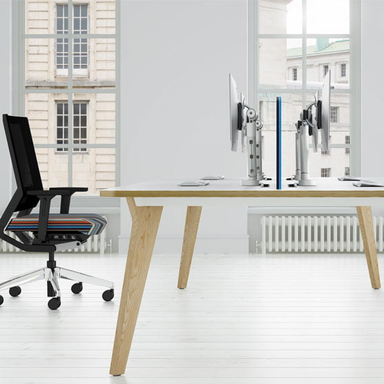 Lux Bench and Collaborative Table