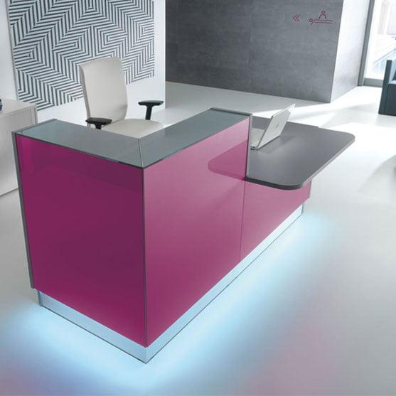 Linea Reception Desk from MDD