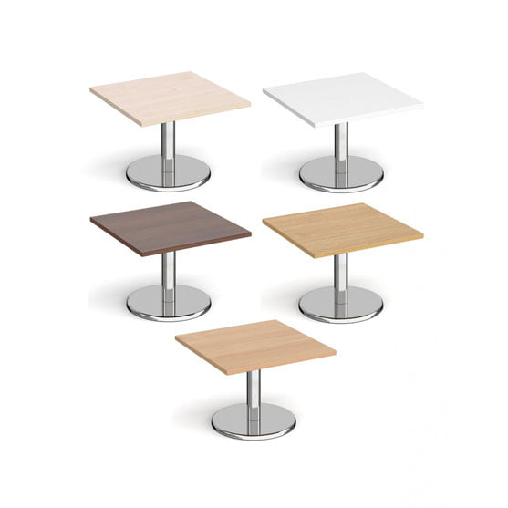 Pisa Coffee Table Square Finishes