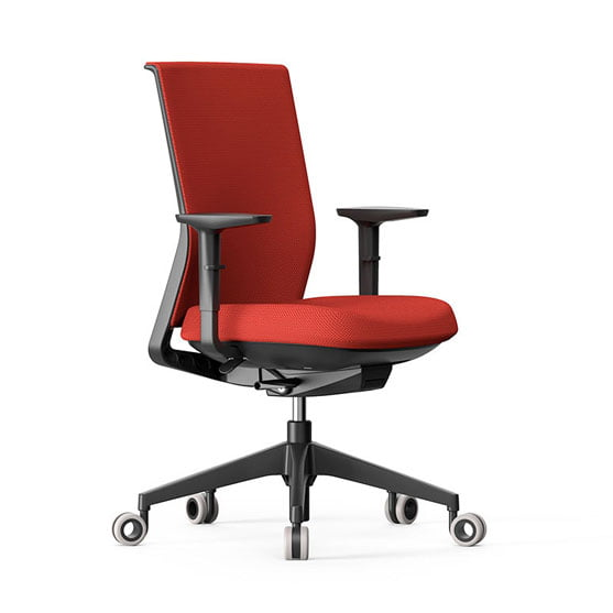 Stay Mesh Chair in Red