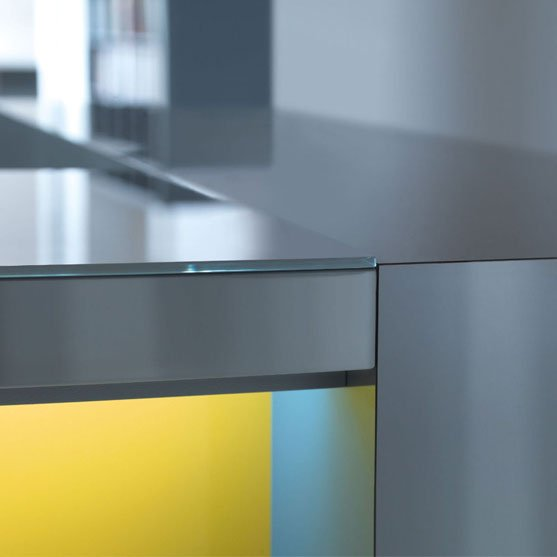 Desktop Detail of Valde Reception Desk