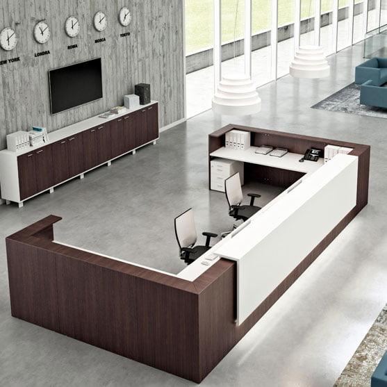 Z2-Reception-Desk-with-matching-Storage-from-Quadrifoglio