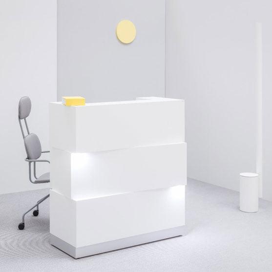 Zen Reception Desk From MDD beautiful reception counter