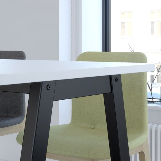 Details of Harmony Bench Table