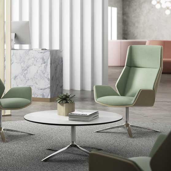 Kruze Lounge Chair Green