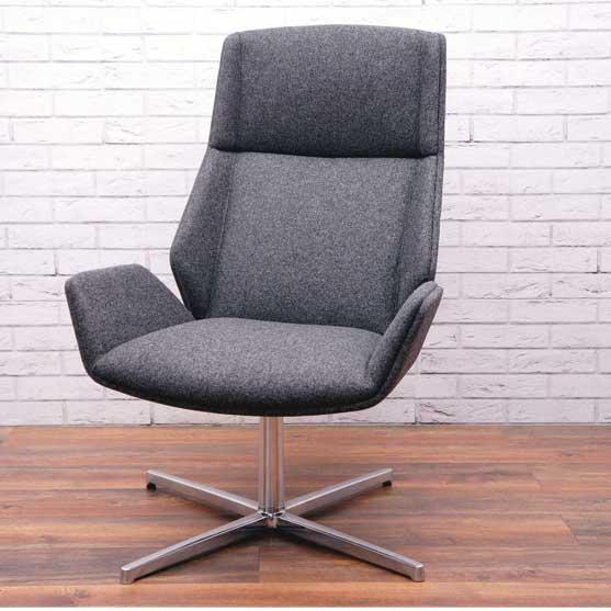 Kruze Lounge Chair Upholsered