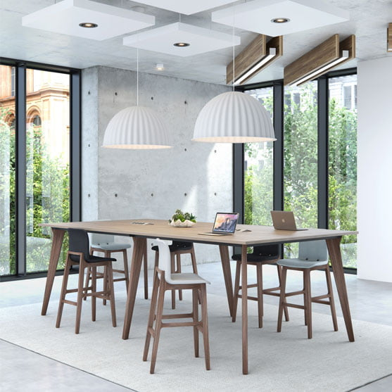 Lux High Bench Table from Elite
