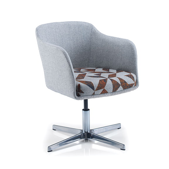 Cirque 4 star base two toned upholstered pulse design