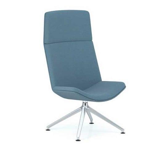 Spirit Lounge Chair in blue
